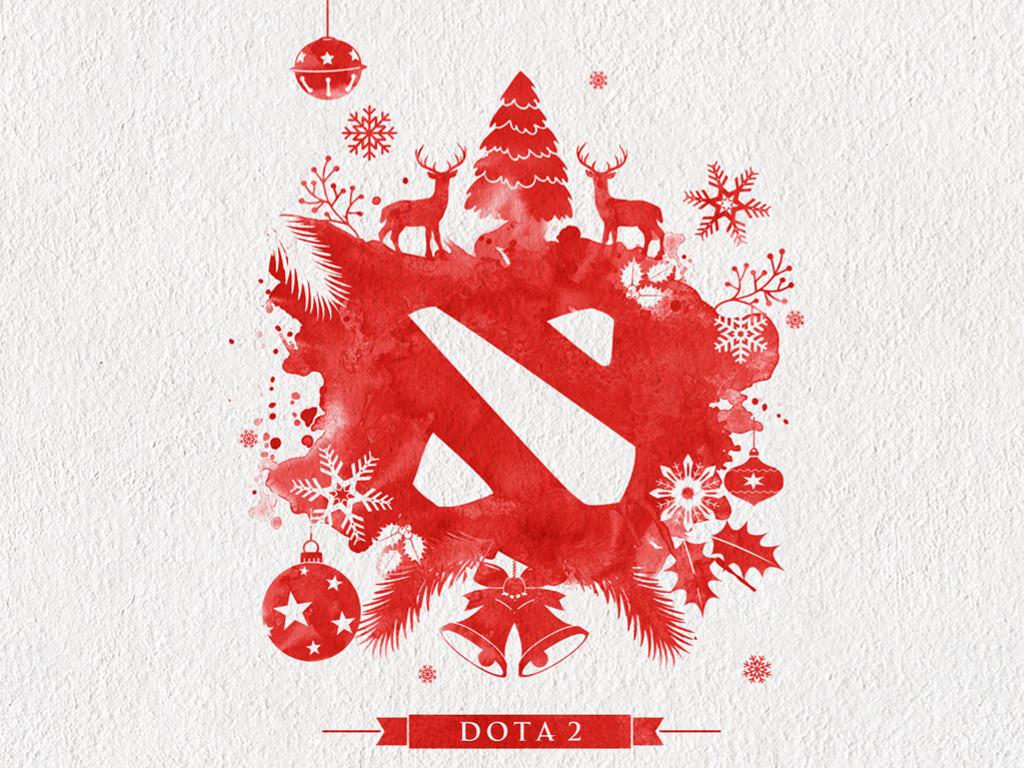 Games Wallpaper: Dota 2 - Christmas