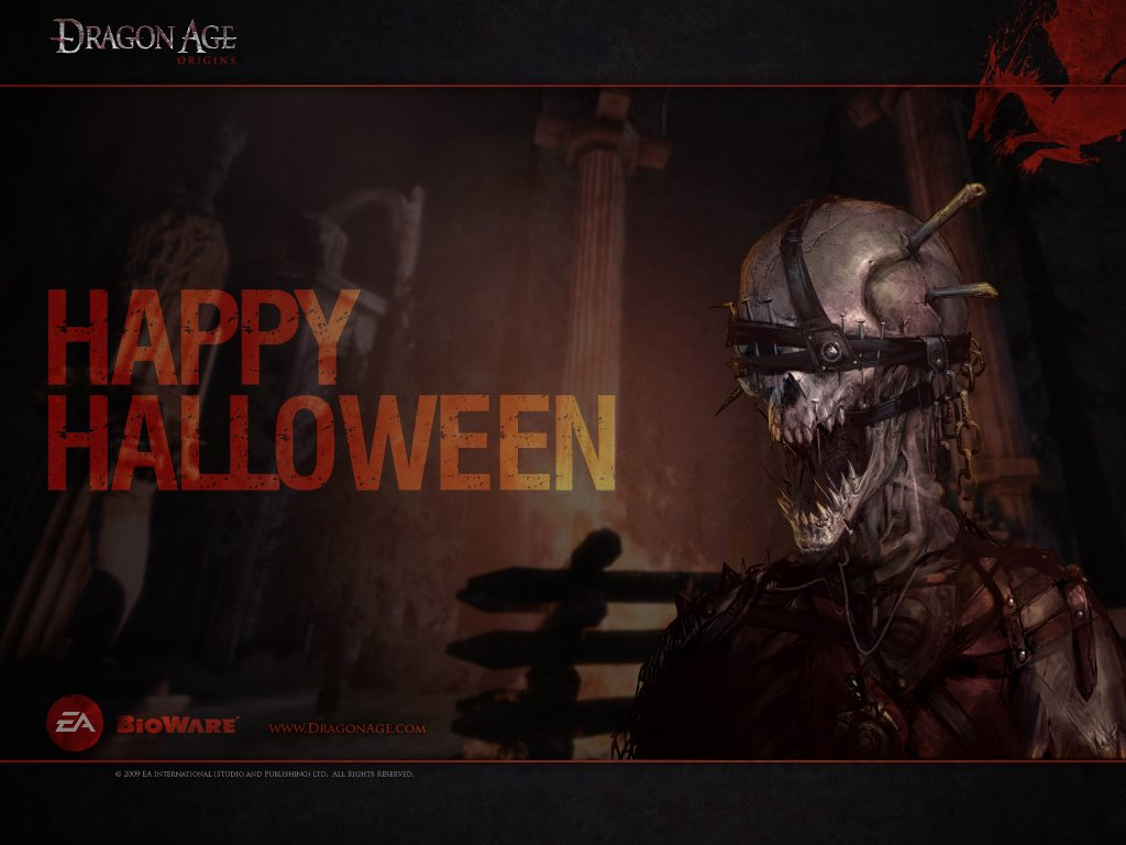 Games Wallpaper: Dragon Age Origins - Halloween