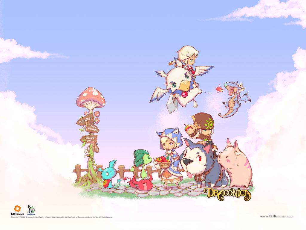 Games Wallpaper: Dragonica