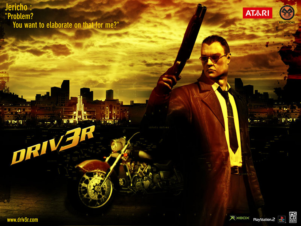 Games Wallpaper: Driver 3