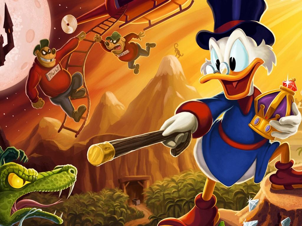 Games Wallpaper: DuckTales Remastered