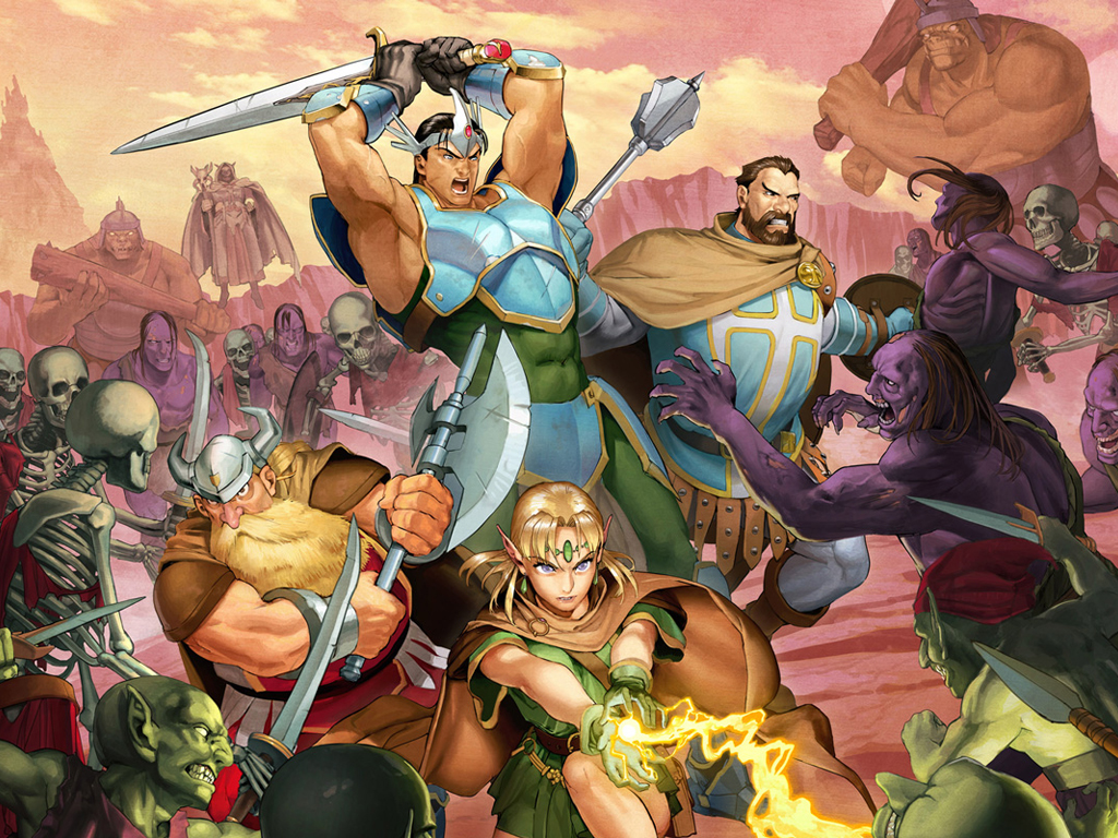 Games Wallpaper: Dungeons & Dragons - Chronicles of Mystara