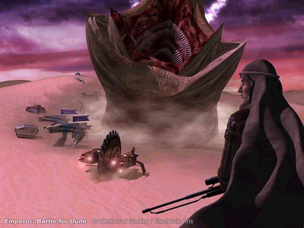 Games Wallpaper: Emperor - Battle for Dune