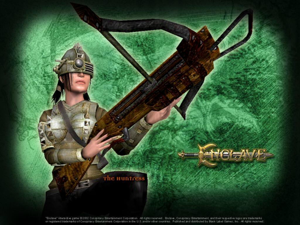 Games Wallpaper: Enclave - Huntress