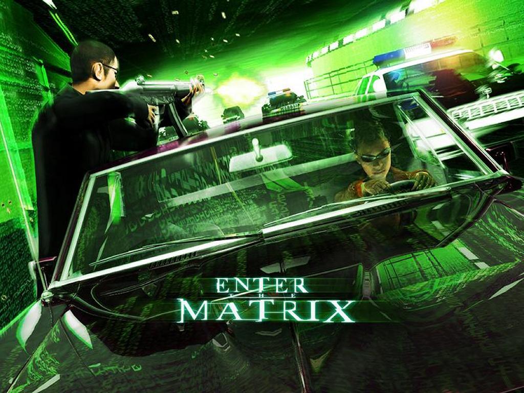 Games Wallpaper: Enter the Matrix