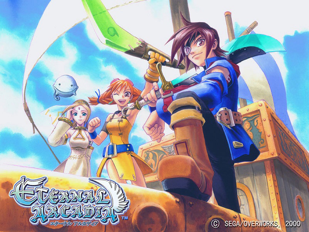 Games Wallpaper: Eternal Arcadia
