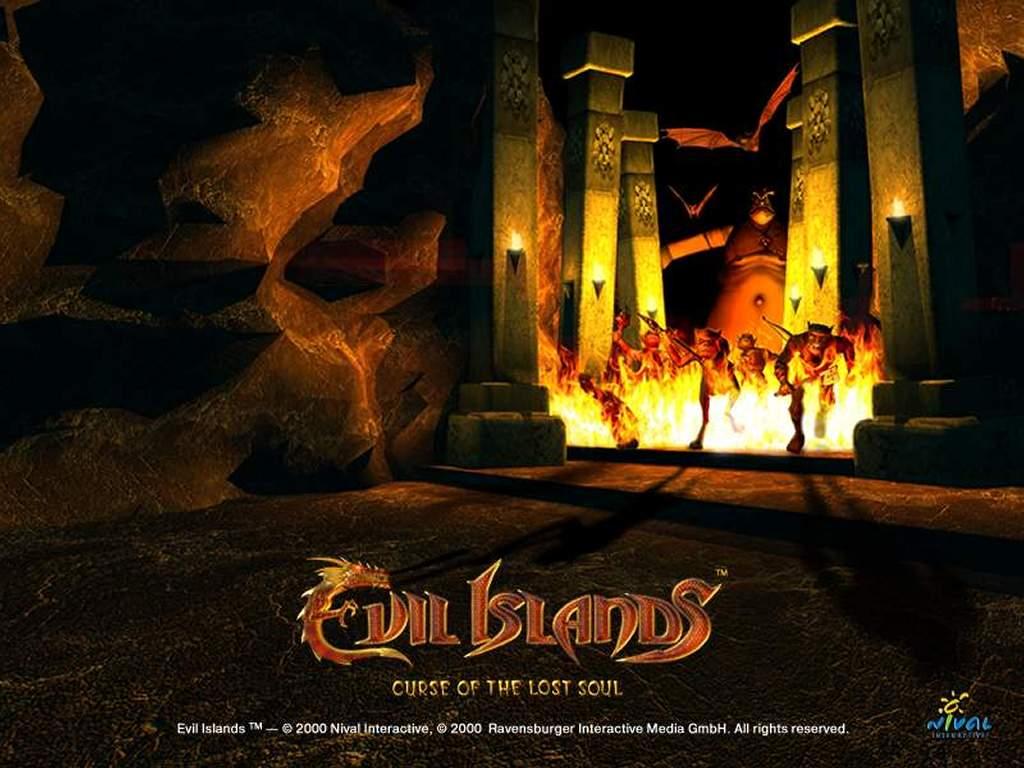 Games Wallpaper: Evil Islands
