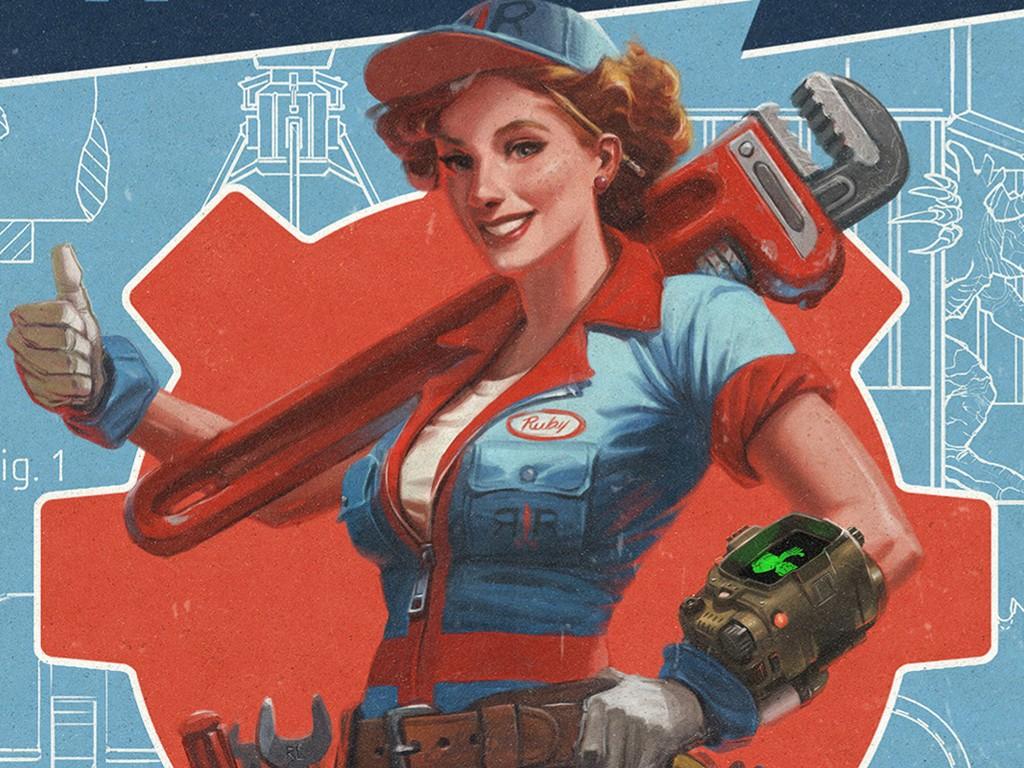 Games Wallpaper: Fallout 4 - Wasteland Workshop