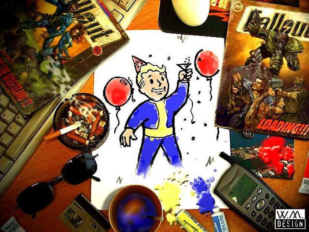 Games Wallpaper: Fallout