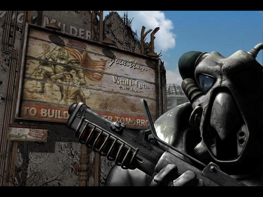 Games Wallpaper: Fallout - Enclave