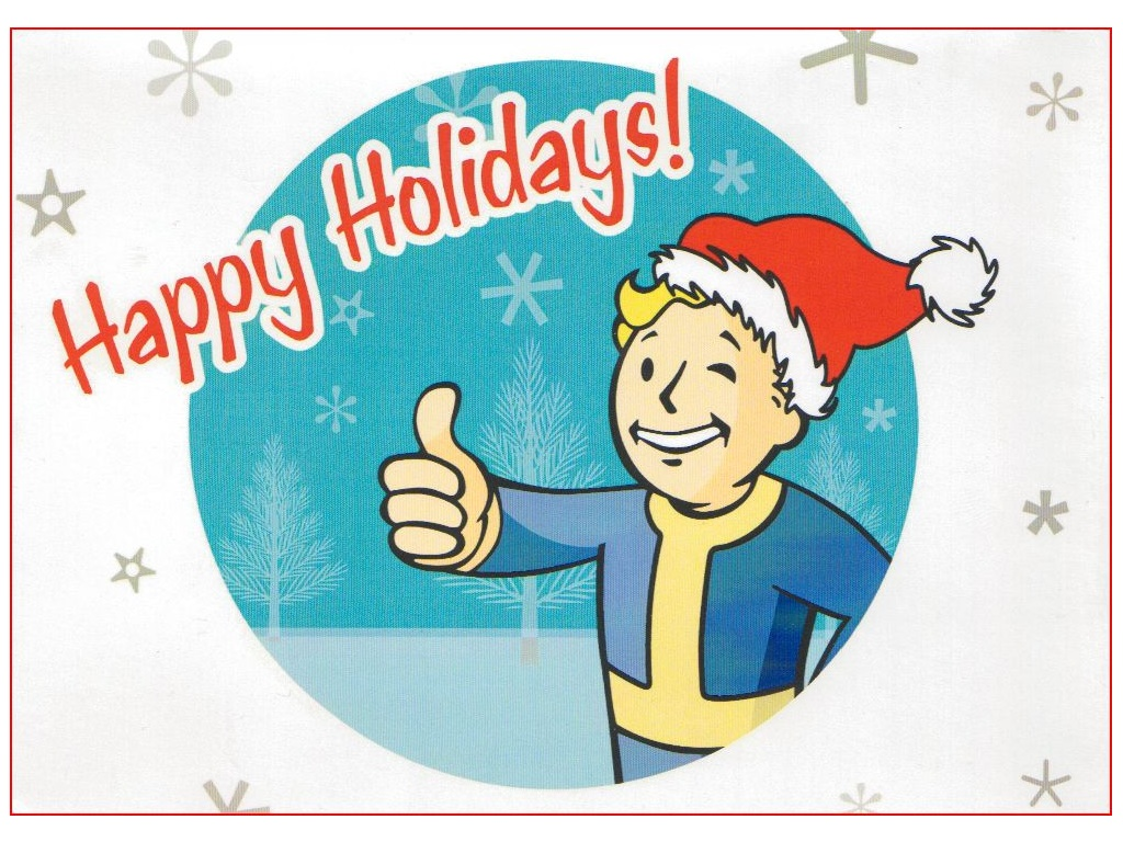 Games Wallpaper: Fallout - Happy Holidays (Xmas)