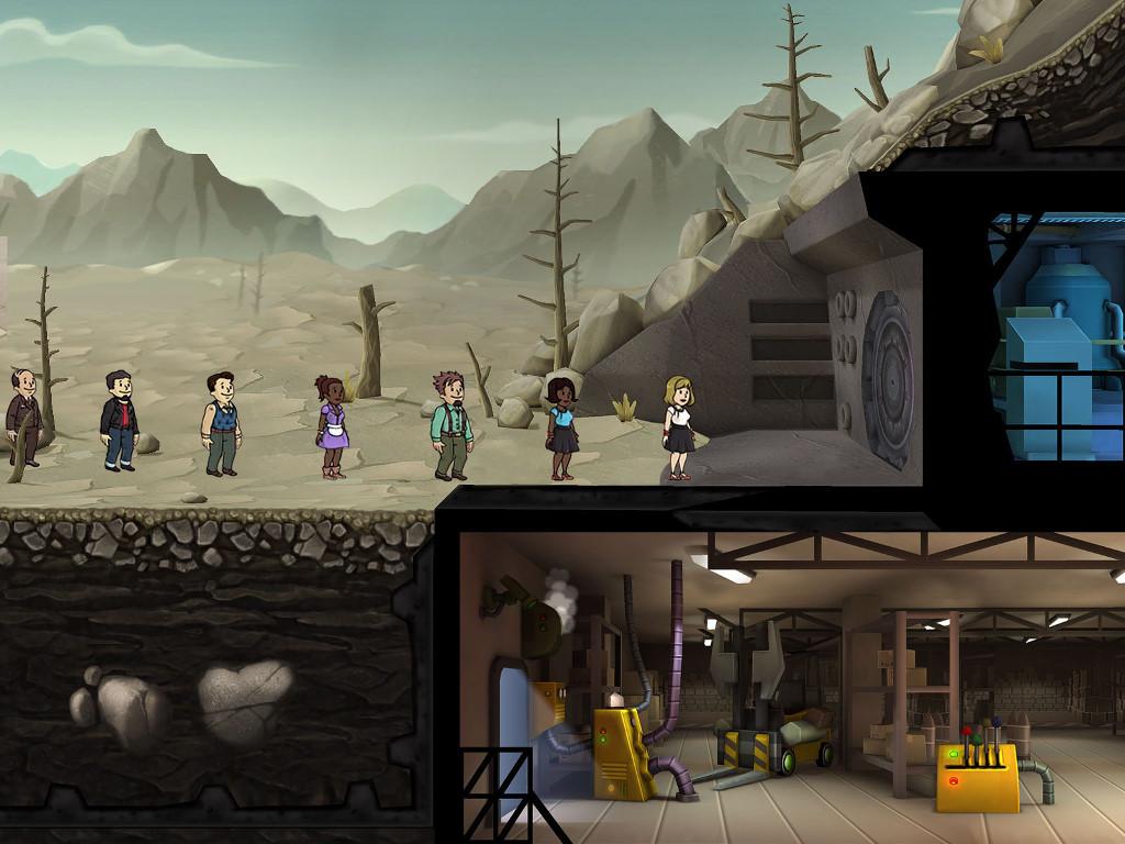 Games Wallpaper: Fallout Shelter