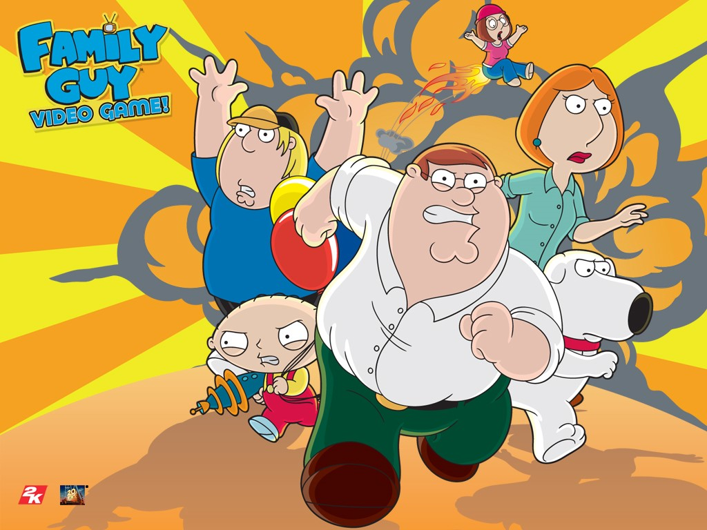 Games Wallpaper: Family Guy - The Video Game
