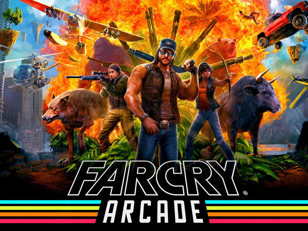 Games Wallpaper: Far Cry 5 - Arcade