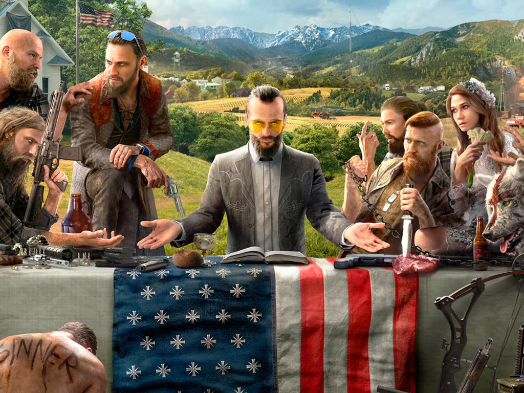 Games Wallpaper: Far Cry 5