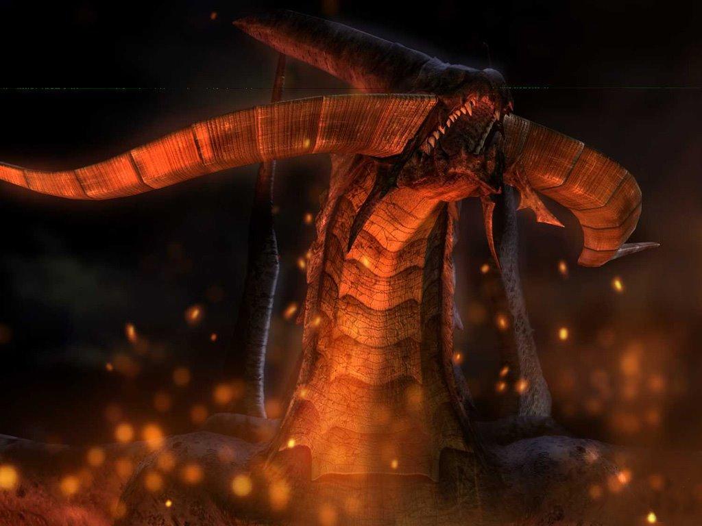 Games Wallpaper: Final Fantasy IX - Bahamut
