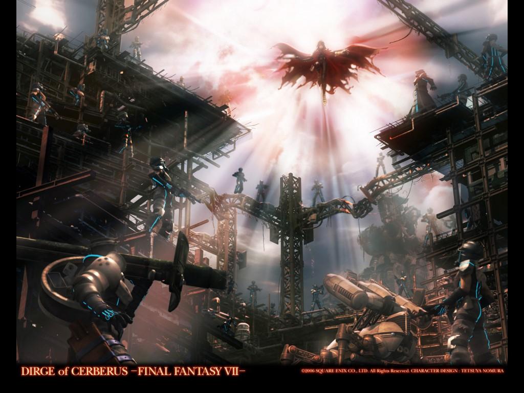 Games Wallpaper: Final Fantasy VII - Dirge of Cerberus