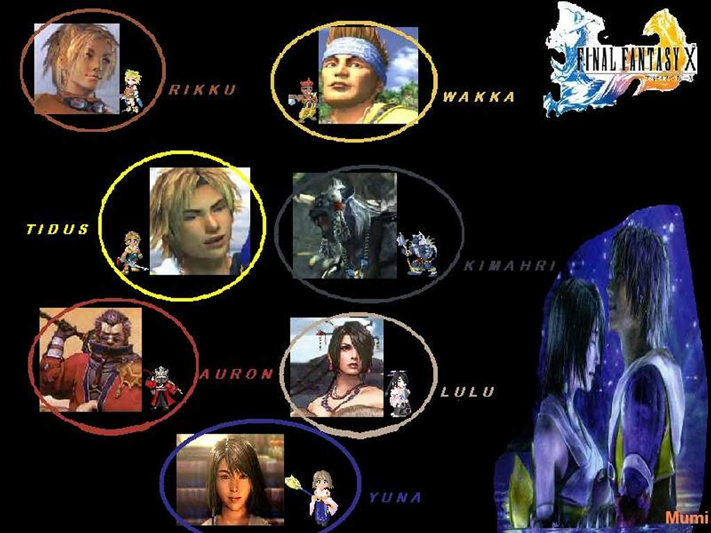 Games Wallpaper: Final Fantasy X by Mumi