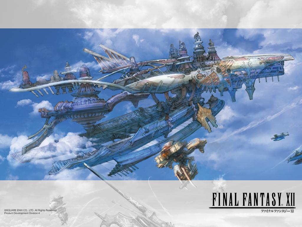 Games Wallpaper: Final Fantasy XII - Ship