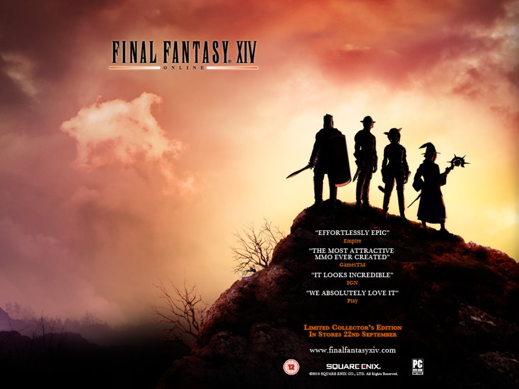 Games Wallpaper: Final Fantasy XIV