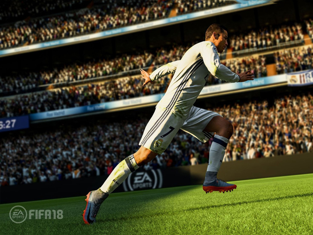 Games Wallpaper: FIFA 18