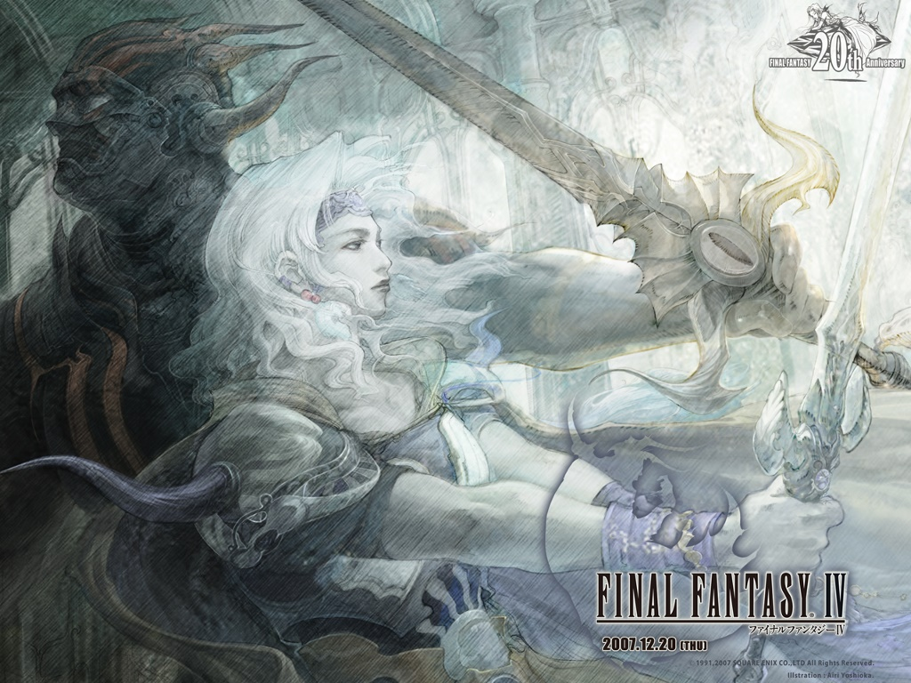 Games Wallpaper: Final Fantasy IV