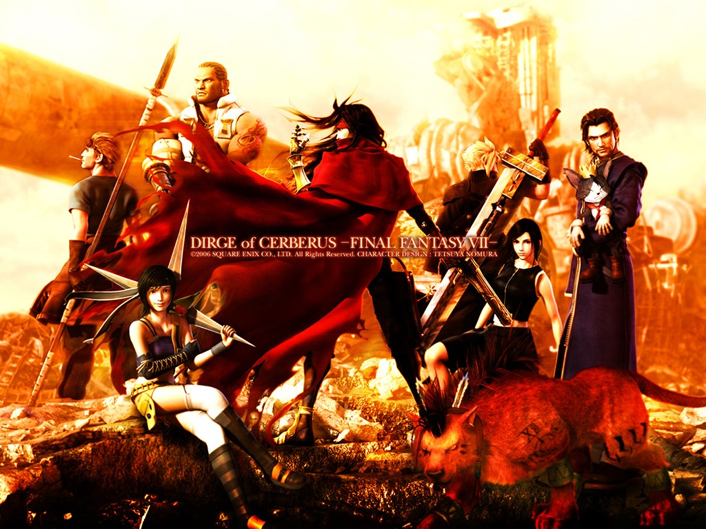 Games Wallpaper: Final Fantasy VII - Dirge of Cerberus