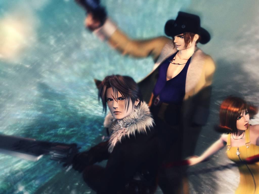 Games Wallpaper: Final Fantasy VIII