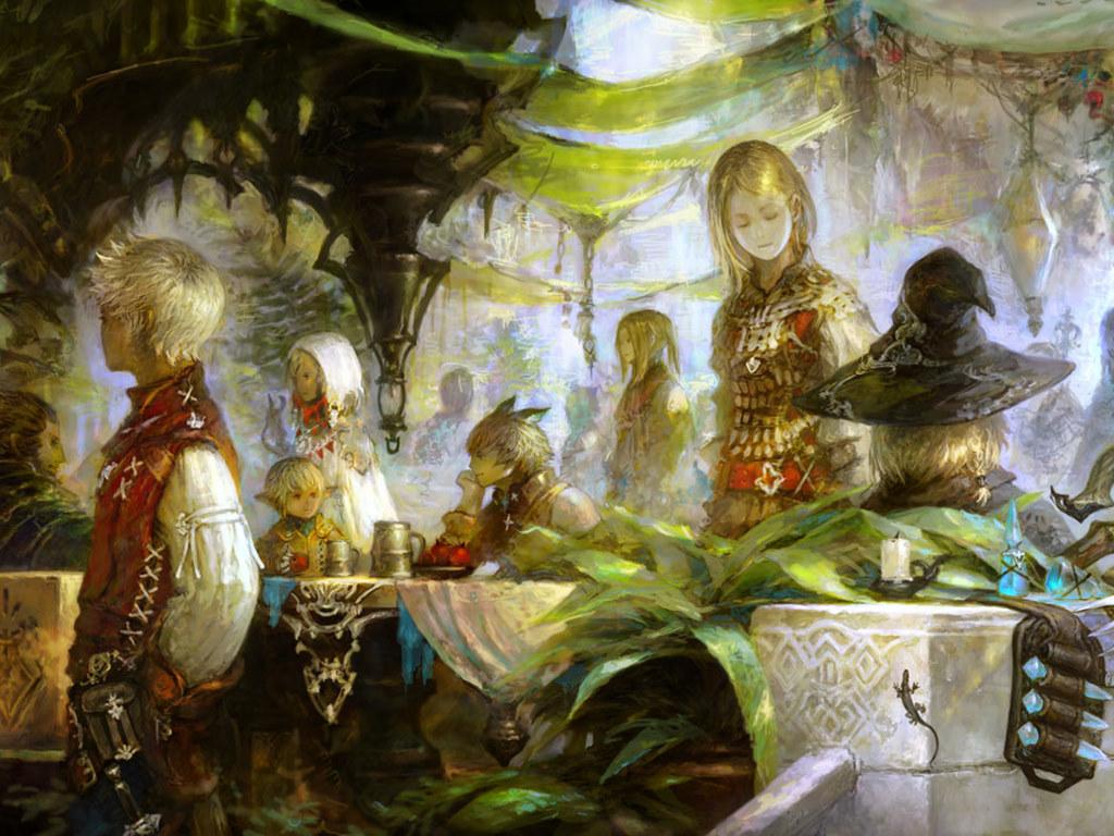 Games Wallpaper: Final Fantasy XIV - Concept Art
