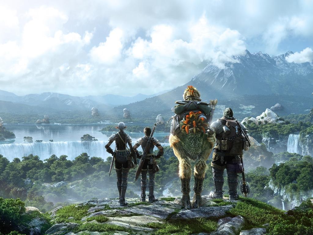 Games Wallpaper: Final Fantasy XIV