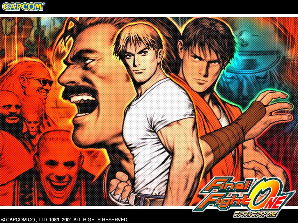 Games Wallpaper: Final Fight One