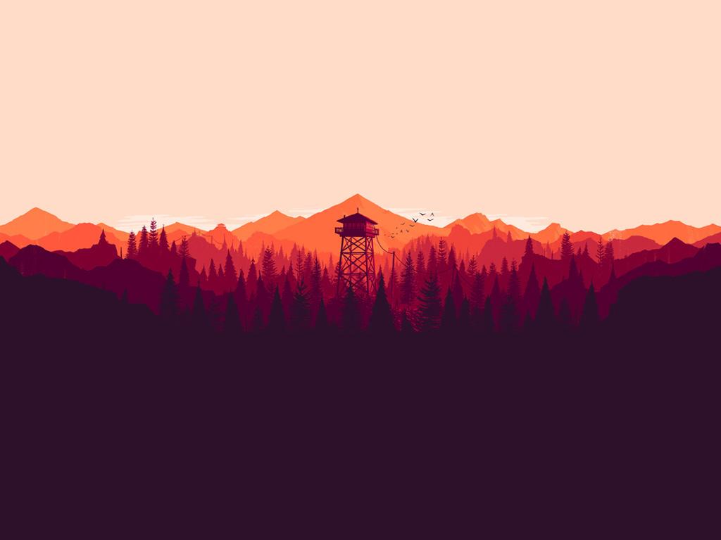Games Wallpaper: Firewatch