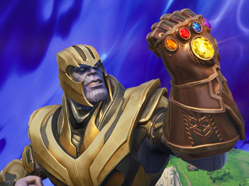 Games Wallpaper: Fortnite - Thanos