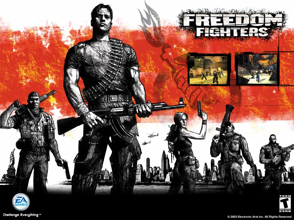 Games Wallpaper: Freedom Fighters