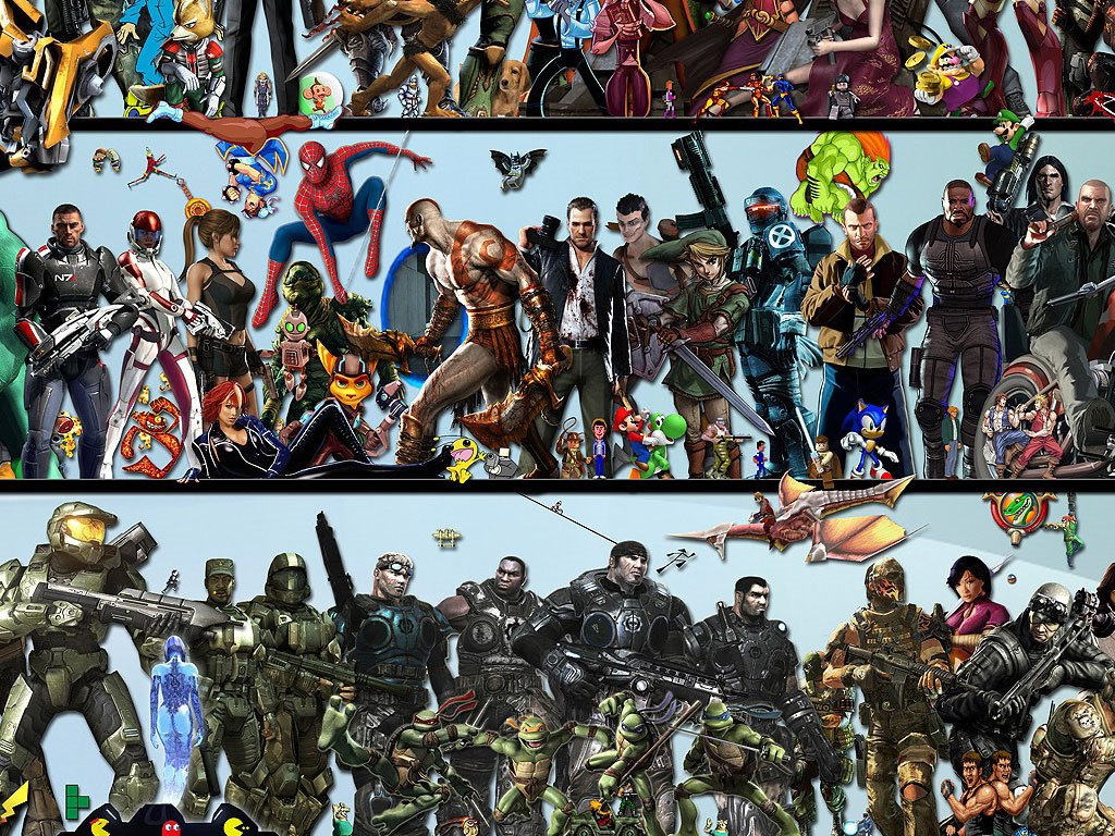 Games Wallpaper: Game Characters