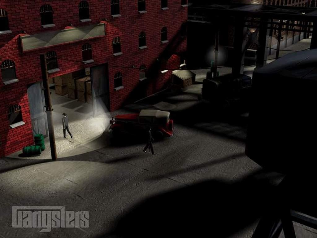 Games Wallpaper: Gangsters - Dock