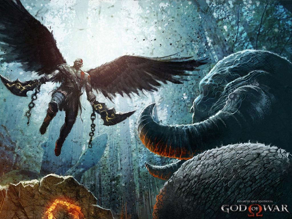 Games Wallpaper: God of War (2017)