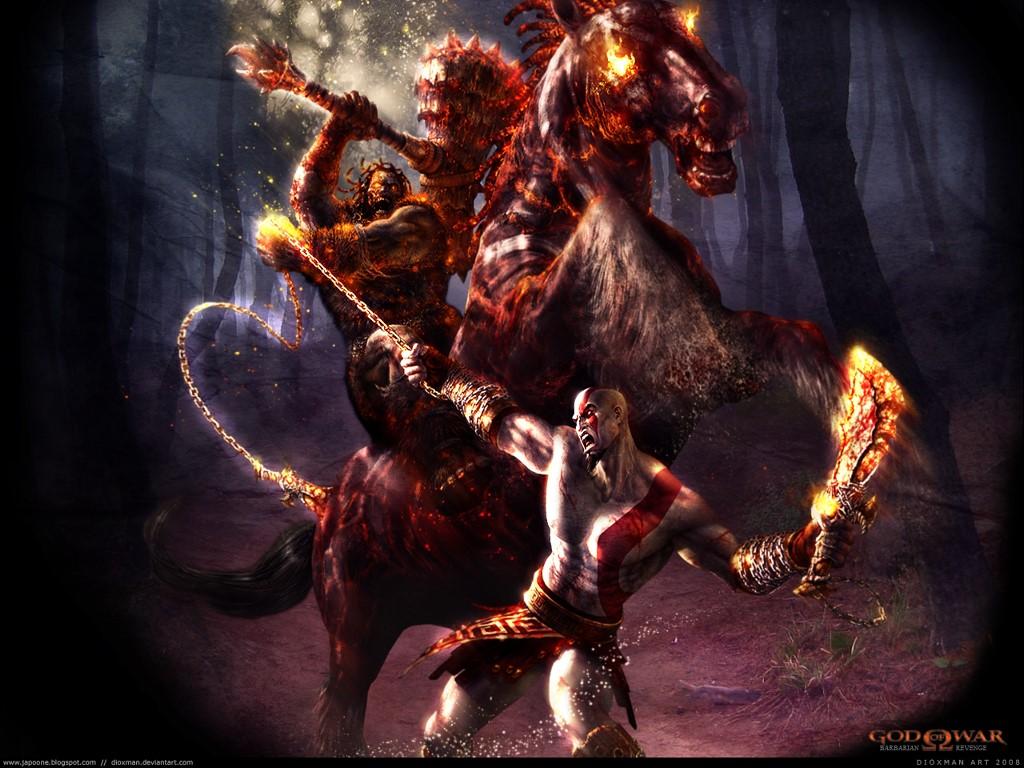 Games Wallpaper: God of War