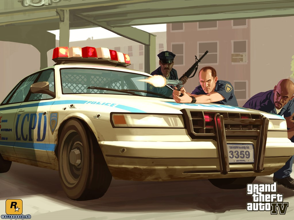 Games Wallpaper: GTA IV