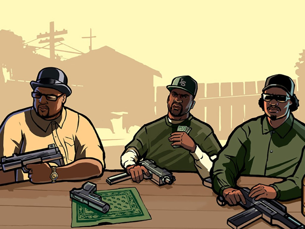 Games Wallpaper: GTA San Andreas