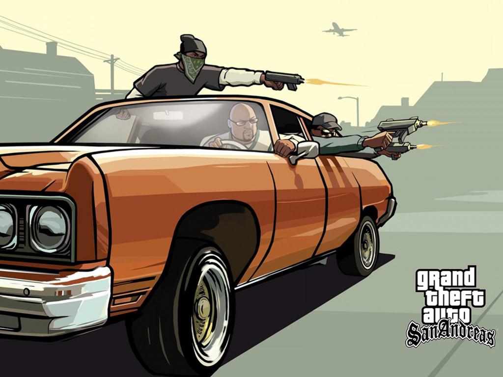 Games Wallpaper: GTA San Andreas