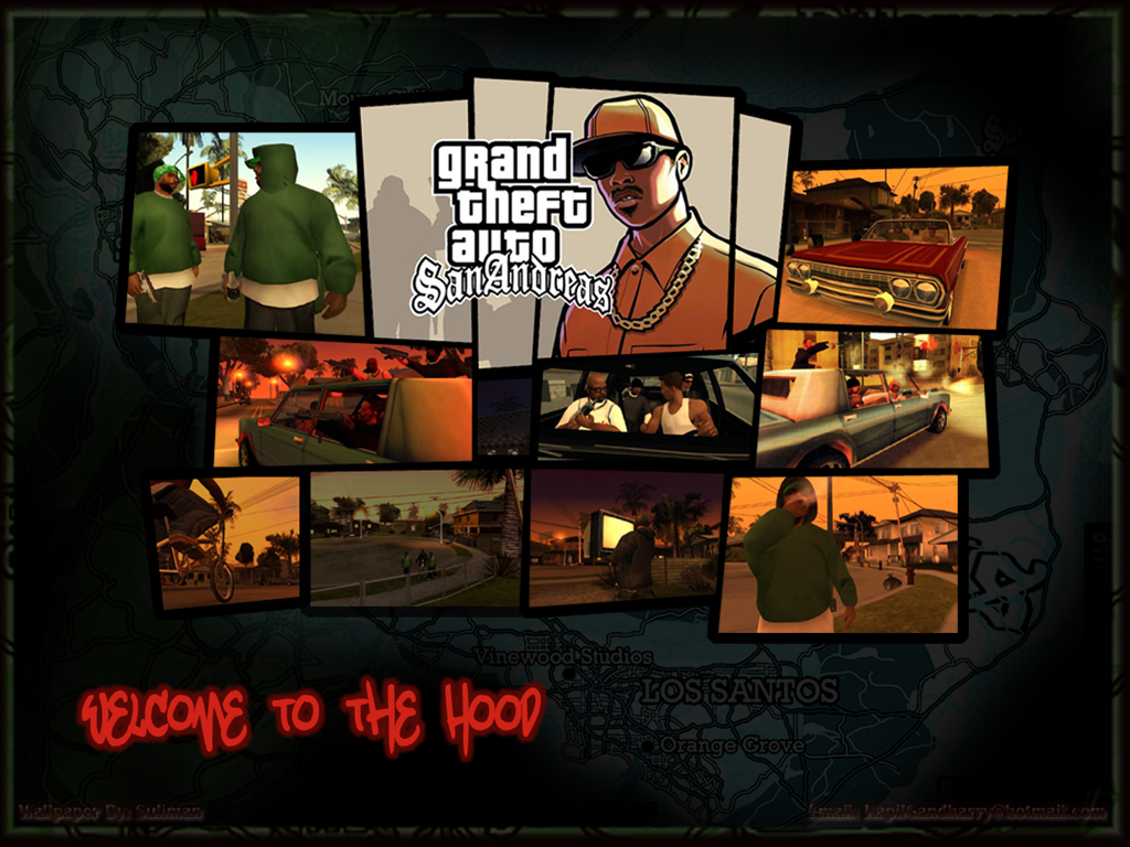 Games Wallpaper: Grand Theft Auto - San Andreas