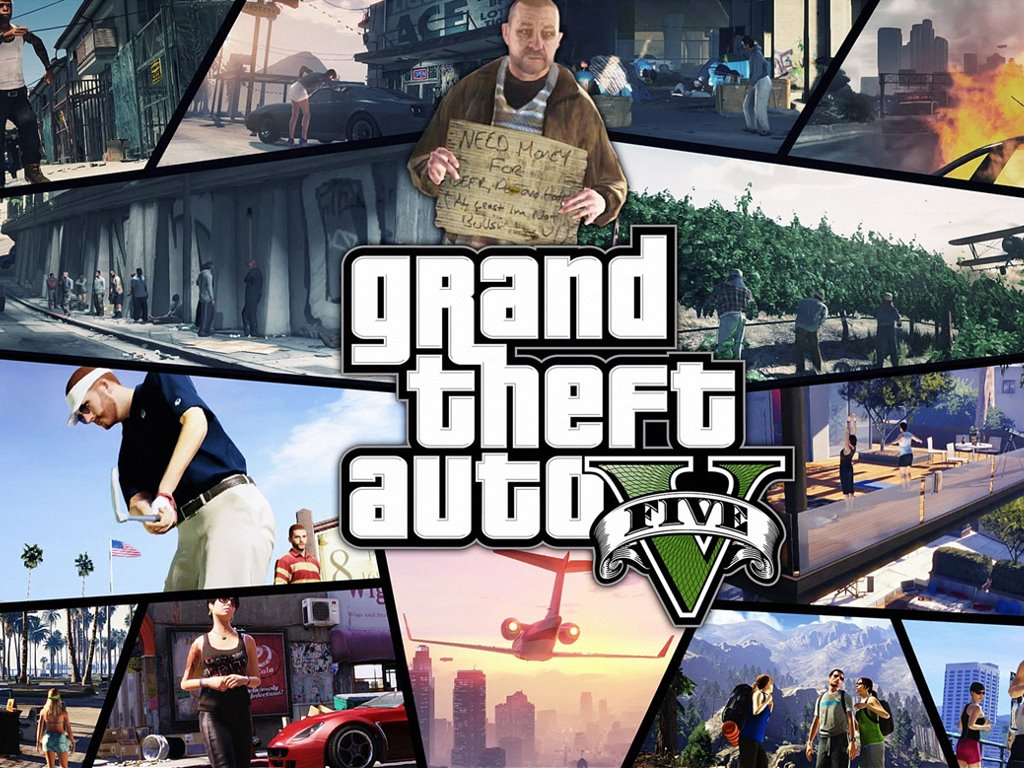 Games Wallpaper: GTA V