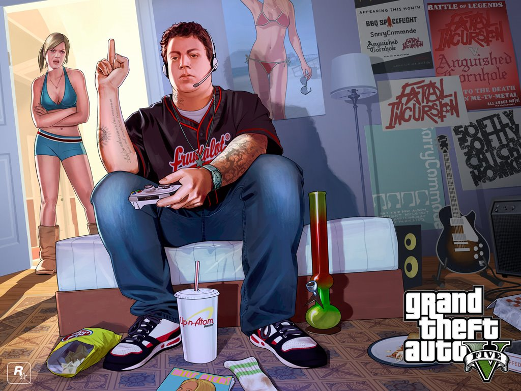 Games Wallpaper: GTA V - Jimmy