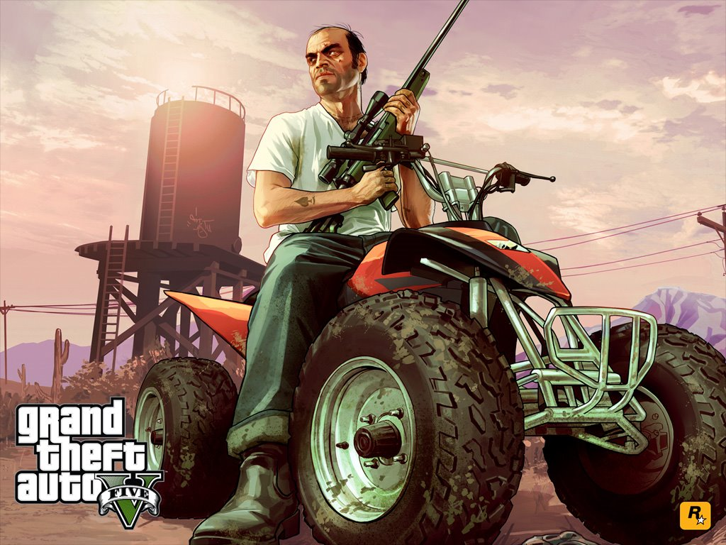 Games Wallpaper: GTA V - Trevor