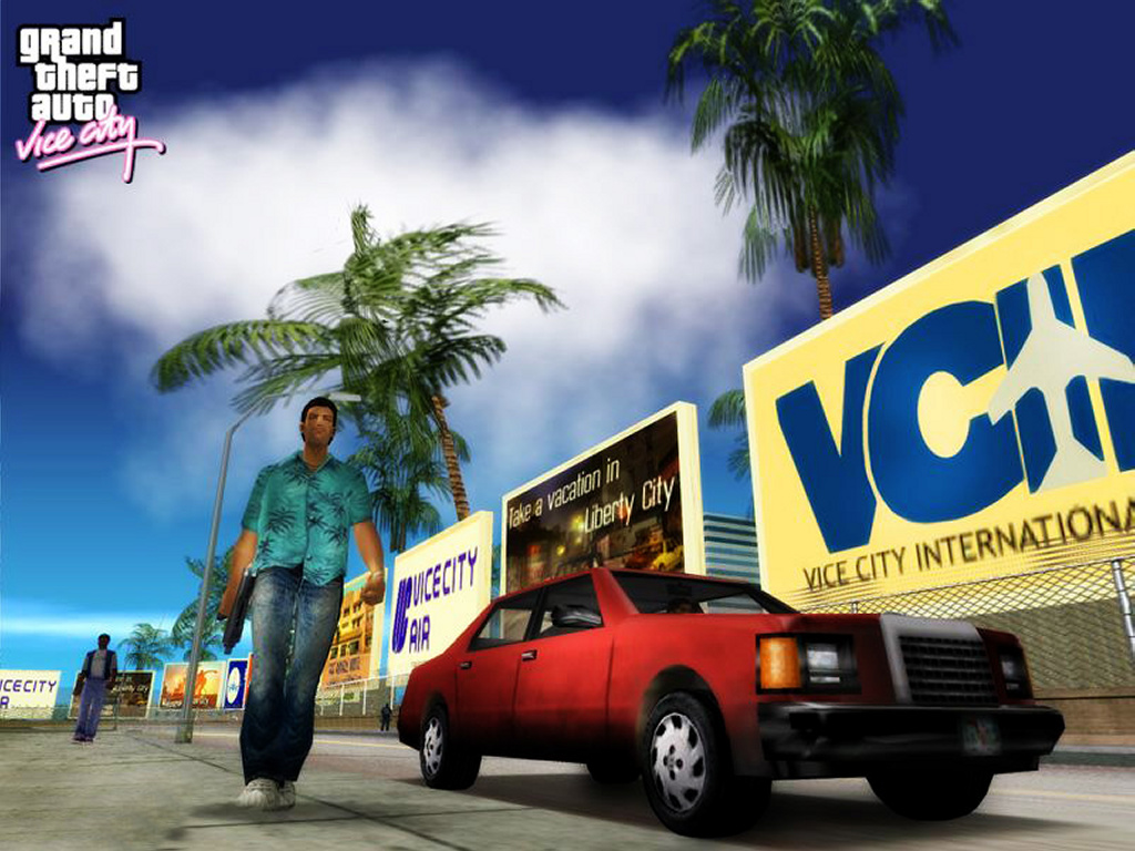 Games Wallpaper: Grand Theft Auto - Vice City
