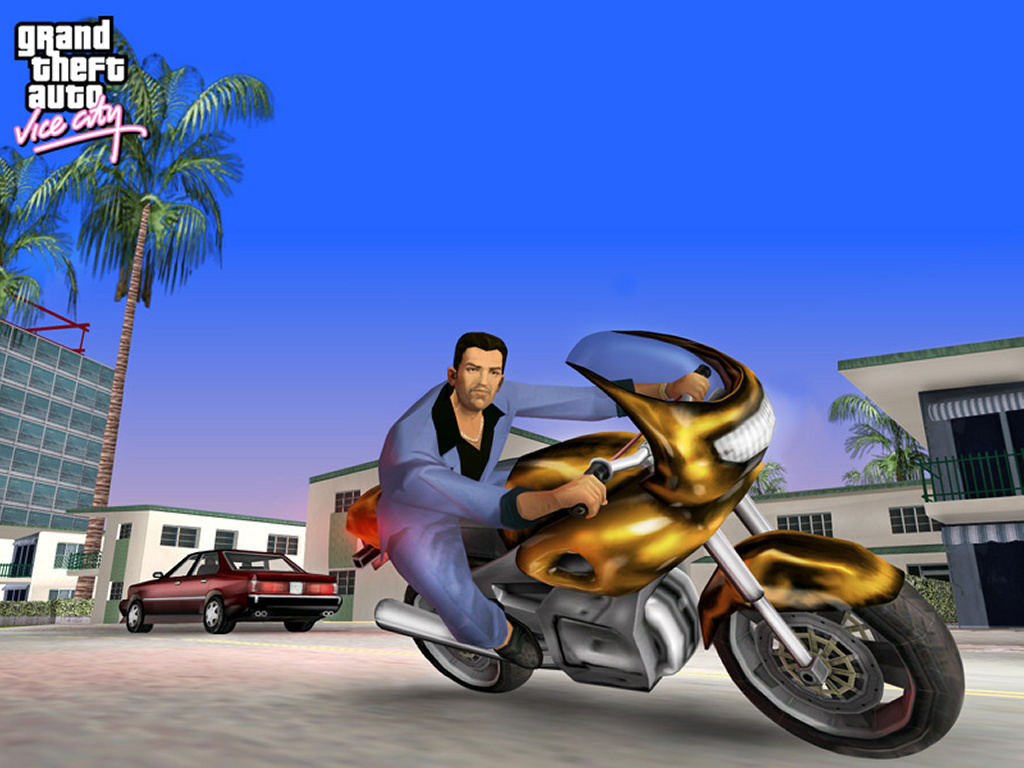 Games Wallpaper: GTA - Vice City
