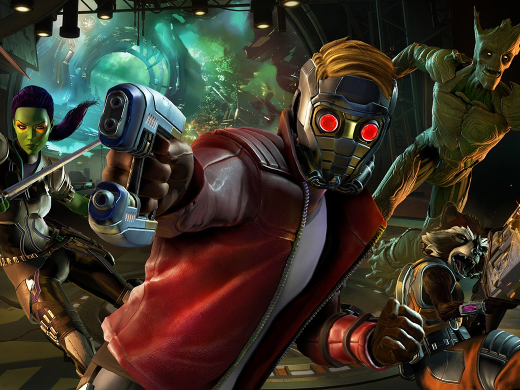 Games Wallpaper: Guardians of the Galaxy - The Telltale Series