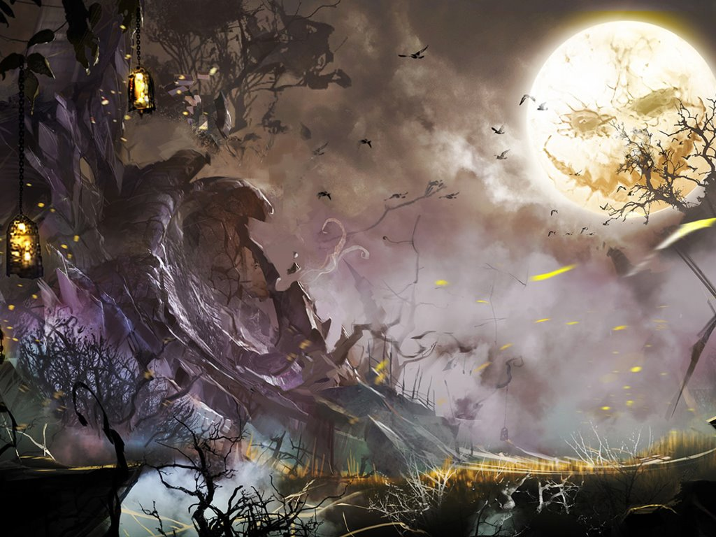 Games Wallpaper: Guild Wars 2 - Halloween