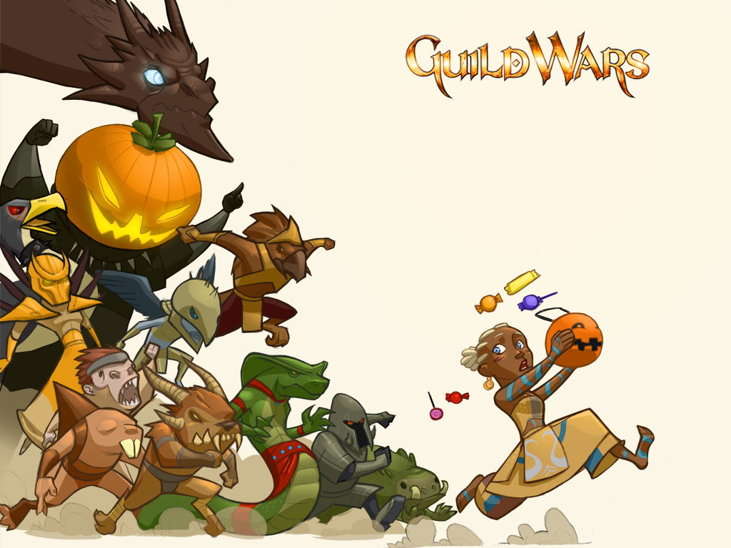 Games Wallpaper: Guild Wars - Halloween